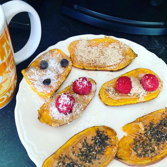 Sweet Potato Toast?! Wacky or Genius Breakfast?