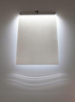 Wandlichtfläche-kaltweiß