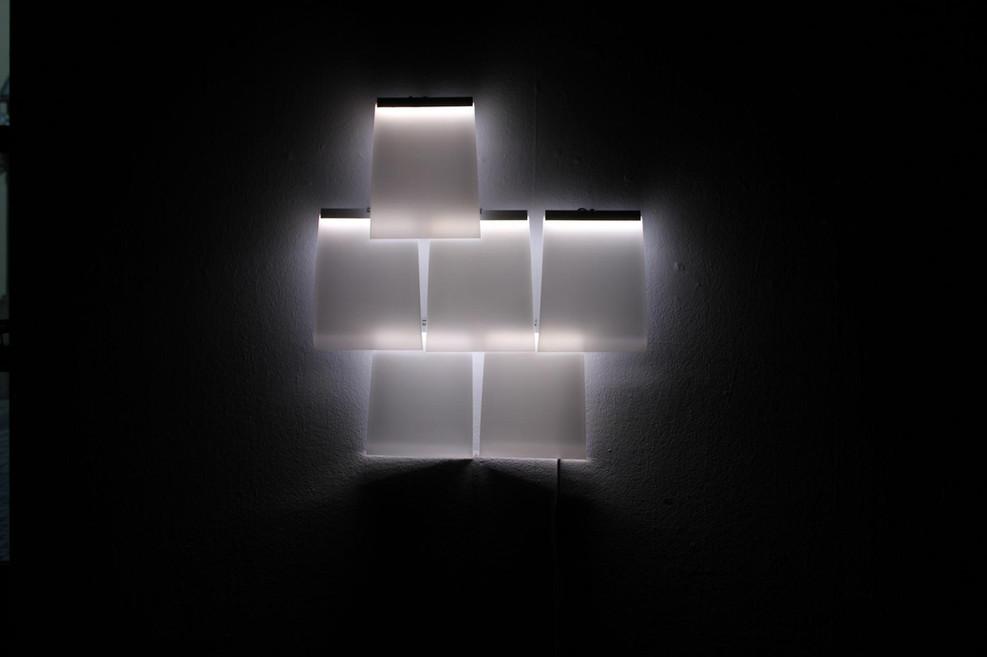Wand-Lichtobjekt