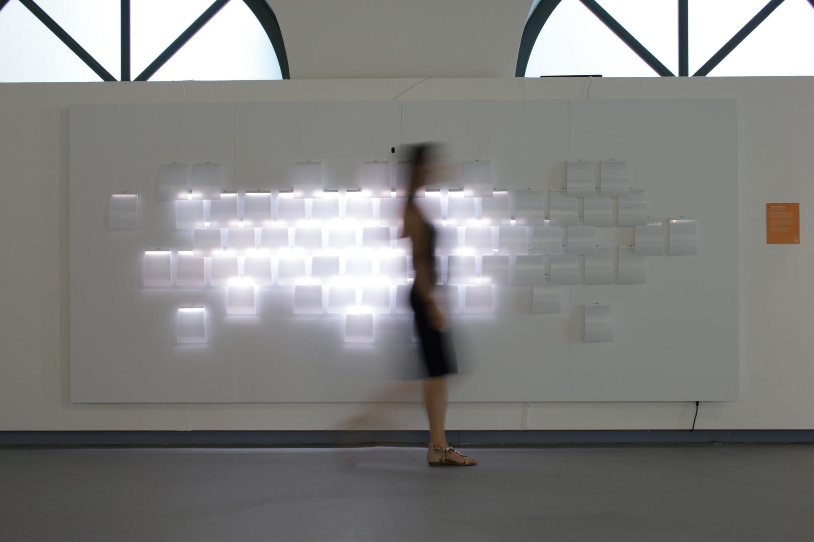 interaktive Lichtinstallation