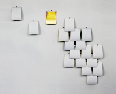 Lichtobjekt Wand