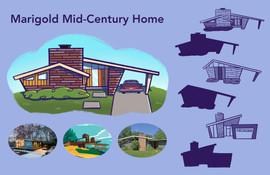 Marigold Mid-Century Home