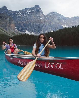 Canoe Moraine Lake
