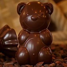 Ourson 14cm - chocolat noir
