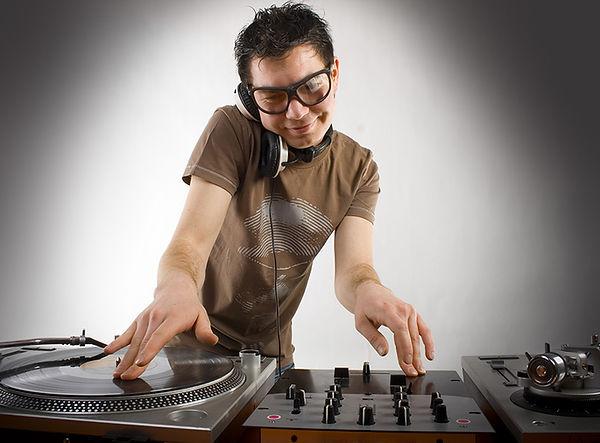DJ Playing Disco House