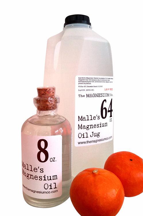 malles magnesium oil dead sea jug