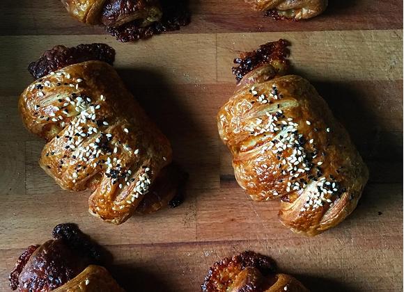 火腿起司裸麥可頌 Ham & Cheese Croissant