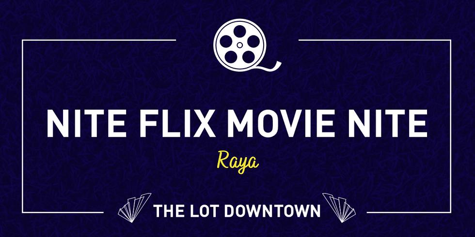 Nite Flix Movie Nite featuring Raya and the Last Dragon