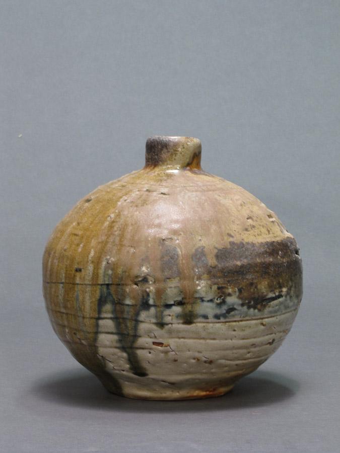 Vase,  8 in. dia. x 8 in. h., Wood fired stoneware-web.jpg