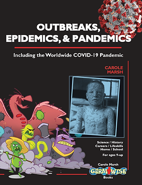 outbreaks, epidemics, pandemics kids book by carole marsh