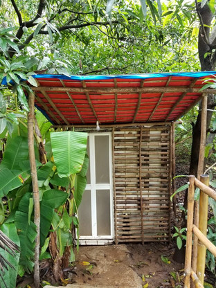 Bamboo Cottage Toilet