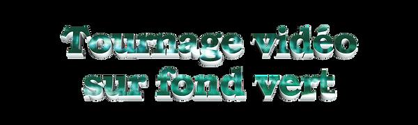 Logo tournage vidéo