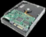 PCB gestion électronique d'un disque dur