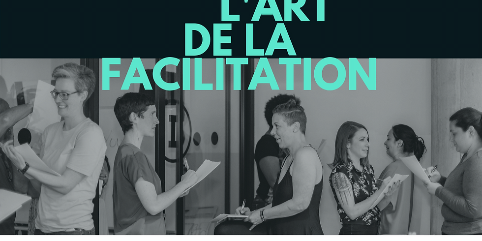 L'art de la facilitation | The art of facilitation (1)