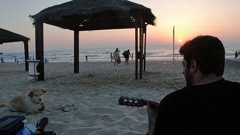 גיטרה שקיעה - גיטרה אונליין