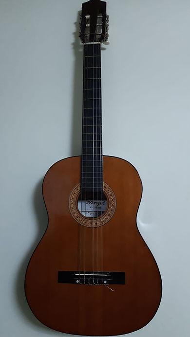 הגיטרה הקלאסית הראשונה שלי- שיעורי גיטרה