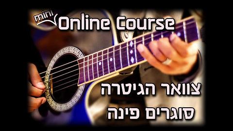 צוואר הגיטרה- קורס אונליין גיטרה