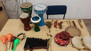 כלי נגינה לפעילוית מוזיקליות
