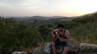 גיטרה וטבע- קאבר גיטרה למטאליקה- שיעורי גיטרה