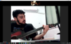 שיעור גיטרה אונליין זום סקייפ