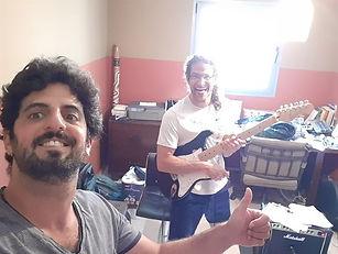 שיעור גיטרה הקלטות