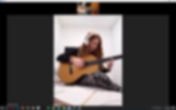 ZOOM SKYPE שיעור גיטרה מקוון זום סקייפ