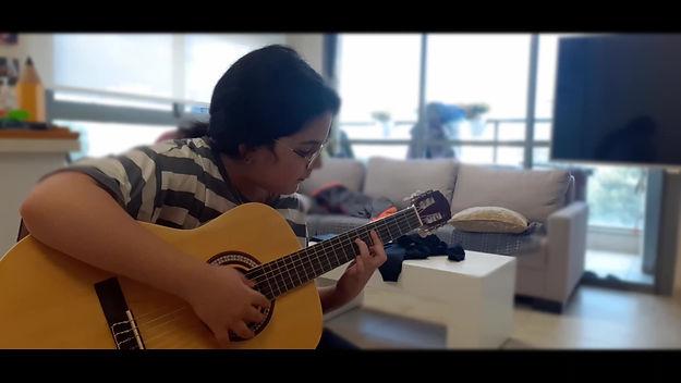 בוגרי הקורס אונליין גיטרה
