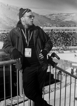 Zane at the World Ski Championships