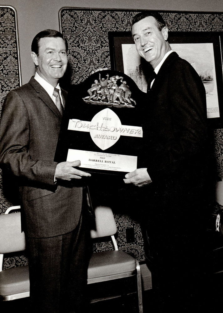 TD Club-Darrell Royal, Tex Thornton,1969