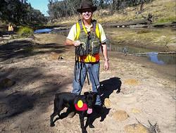 'Migaloo' archaeology dog