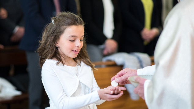 Comunioni Sacra Famiglia 2019