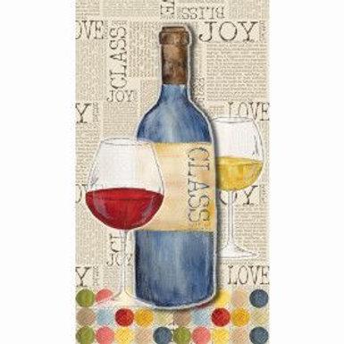 Napkin Dinner Bottle Joy 24C
