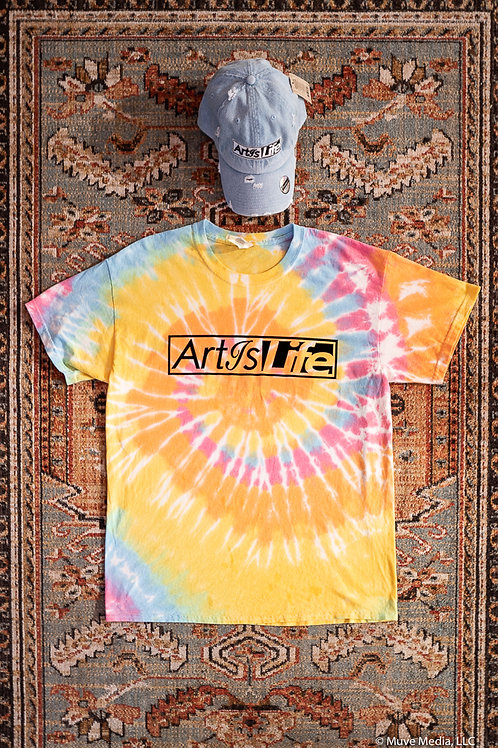 Limited Edition ty dye ArtIsLife T