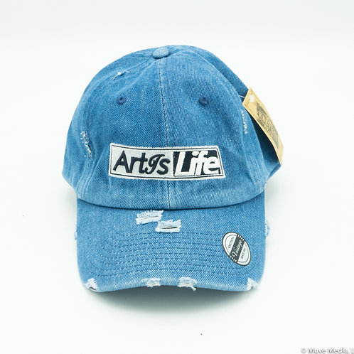 Billy Jean Blue Vintage Dad Cap