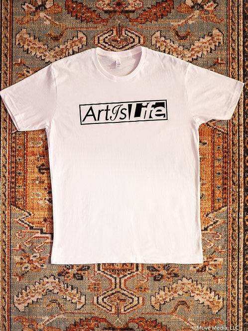 ArtIsLife Soft Cotton White Tee