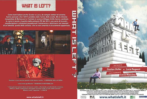 WHAT IS LEFT? DVD ITALIANO