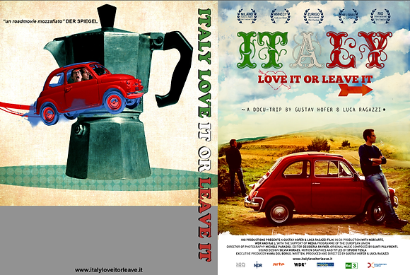 ITALY LOVE IT OR LEAVE IT - DVD Italiano