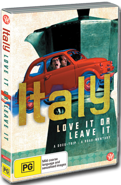 Italy Love it or Leave it - DVD ENGLISH - Region 2