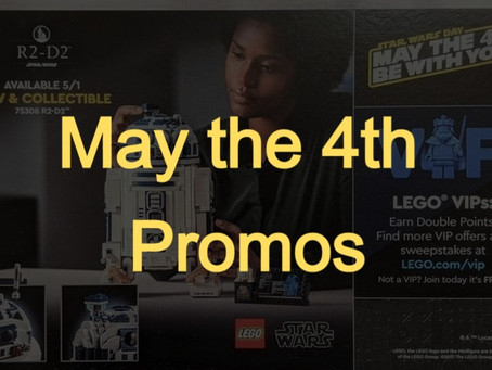 LEGO Star Wars™ May the 4th Promos: First Look