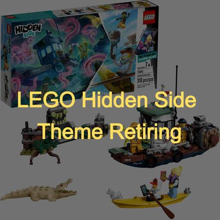 LEGO Hidden Side Theme Retiring