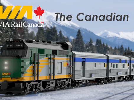 LEGO Ideas: VIA RAIL CANADA - THE CANADIAN Achieves 10k Supporters