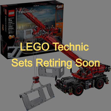 LEGO Technic Sets Retiring Soon