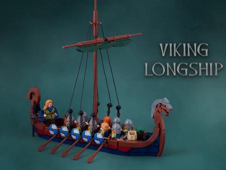 LEGO Ideas: Viking Longship Achieves 10k Supporters