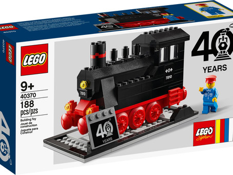 LEGO® Trains 40th Anniversary Set Available on Shop@Home