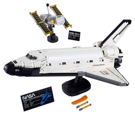 LEGO® NASA Discovery Space Shuttle (10283) Officially Announced
