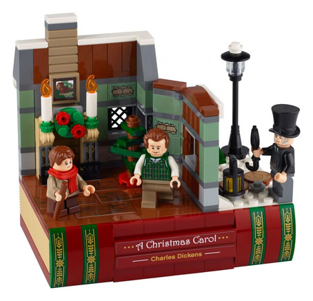 LEGO Charles Dickens Tribute 40410 Official Images