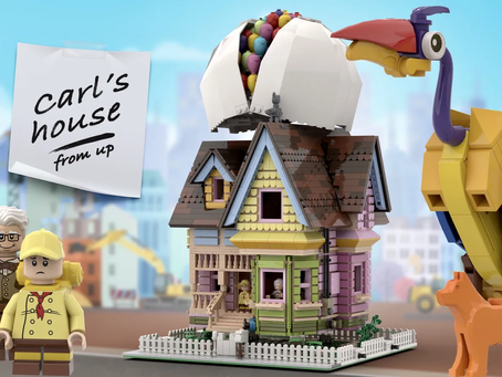 LEGO Ideas: House From Up Achieves 10k Supporters