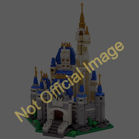 LEGO Disney Castle Microbuild: Future Gift With Purchase
