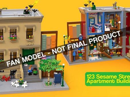 LEGO Ideas Sesame Street 21324 First Reports