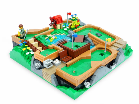 LEGO Ideas: Working Mini Golf Course Achieves 10k Supporters